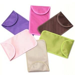 different colors of rfid security bags with oxford fabric