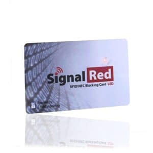 rfid signal blocking card
