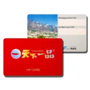2 Examples of PVC smart cards with customer specific designs